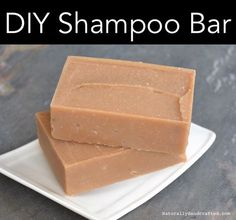 is a cold process DIY shampoo bar. You should allow the shampoo bar to cure/ Diy Shampoo, Lush Shampoo Bar, Solid Shampoo, Homemade Shampoo, Organic Shampoo, Natural Shampoo, Natural Soaps, Homemade Conditioner, Shampoo Bottles