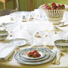 Glasses, cutlery, and plates for your afternoon tea bridal shower! | Afternoon Tea - How To Lay The Table | How To Host A Vintage Afternoon Tea Hen Party