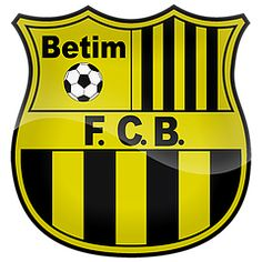 Escudos dos times mineiros de futebol.