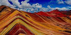 Ausangate Rainbow Mountains, Andes, Peru