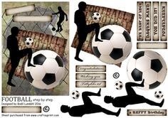 FOOTBALL step by step on Craftsuprint - View Now!
