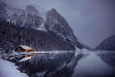 ***Winter at Lake Louise (Banff, Alberta) by Nazmul Islam