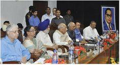 "The Department of Public Relations, Punjab celebrated Dr. B.R. Ambedkar's 125th Birth Anniversary by organizing 2nd Seminar on ""Parliamentary Democracy—Views of Dr. Babasaheb Ambedkar"", attending the seminar were Governor of Bihar, Sh. Ram Nath Kovind and Governor of Haryana, Sh. Kaptan Singh Solanki."