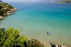 Kalogria Beach, Stoupa, Greece - my summer holiday destination Wonderful Places, Beautiful Places, Myconos, Ocean Pictures, Greece Travel, Greek Islands, Best Vacations, Beautiful Islands, Athens