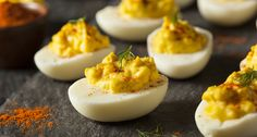 Visit Southern Kitchen for the 5 best ways to make deviled eggs.