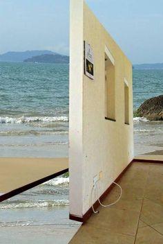 "Saatchi Art Artist Lauro Winck; Photography, ""House overlooking the sea"" #art"