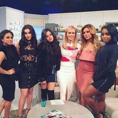 Fifth Harmony and Amanda Holden Fifth Harmony Lauren, Fith Harmony, Amanda Holden, Ally Brooke, I Miss U, Raquel Welch, You're Beautiful, Alyssa Milano, Celebrity Babies