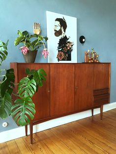 Decorating Your Home, Interior Decorating, Interior Design, Home Again, Take A Seat, Dining Room, Mid Century, Cabinet, Storage