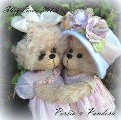 Portia   and   Pandora by Shaz Bears