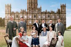 """The cast of """"Downton Abbey."""""""