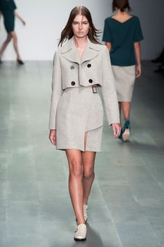 36 photos of Marios Schwab at London Fashion Week Spring 2015.