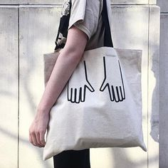 • Large, 16 x 16 inch tote• 100% cotton