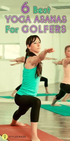 Did you know that performing yoga can help improve your swing? Did you know that these simple poses could help you improve your golfing skills? Intrigued, aren't you? Read this post and find out those incrediblspane every day yoga poses that will help you get better at golf, while providing you with other more important health benefits. #yoga