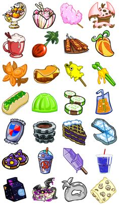 neopet faerie food - I always thought this stuff was so cute