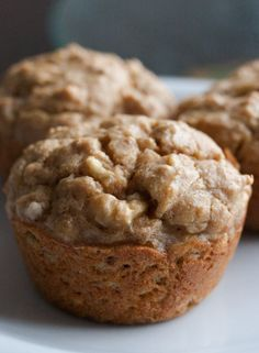 Candice's Low-Carb Banana Spice Muffins
