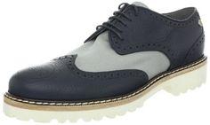 """VIKTOR & ROLF Men's S48WQ0048 Oxford Viktor & Rolf. $920.00. Platform measures approximately 1"""" . Leather/Textile. Heel measures approximately 1.5"""". Made in Italy. Manmade sole"""