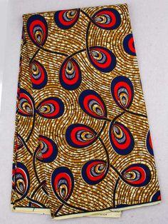 African Print Maxi jupe avec poches par MelangeMode sur Etsy