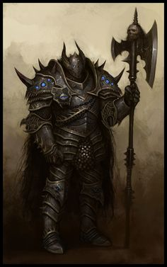 Chaos Knight NPC - EA Mythic, © Games Workshop