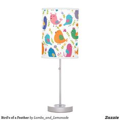 Bird's of a Feather Desk Lamp