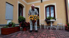 Balkonové květiny u zákazníka