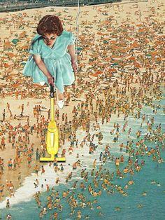 OCD Lady by Eugenia Loli