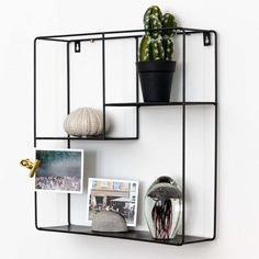All Details You Need to Know About Home Decoration - Modern Black Shelves, Wall Shelves, Shelf, Metal Walls, Black Metal, Modern, Wall Decor, Cabinet, Storage