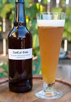 Juniper lemon gose, via Hunter Angler Gardener Cook
