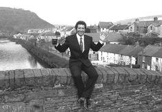 At home in Wales, Sir Thomas Jones Woodward in Pontypridd