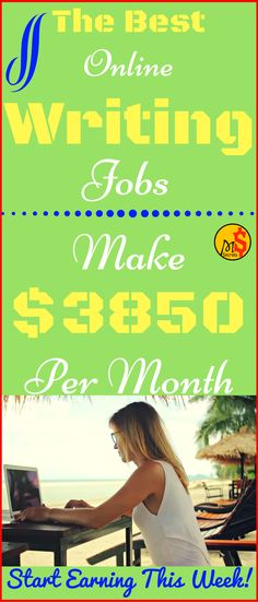 Make money online with online wring jobs. The best work from home jobs for beginners and great method to earn money online. No experience needed. Click the pin to see how >>>