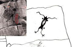 Sassaginnigak Lake, Manitoba petroglyph Interesting History, Archaeology, Places To See, Moose Art, Canada, Animals, Animales, Animaux, Animal