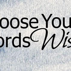 "Choose Your Words Wisely  Have you ever thought about the connotations of the words you use?  Words have an innate power. Words sell and words repel. Words lead and words impede. Words heal and words kill.  When I lived in Portugal and learned to speak Portuguese, the leader or our mission made a rule that we couldn't use the word ""Dificil"" which means difficult. Instead he had us use the word ""desefiador"" which means challenging. At the time I didn't think much about it but now I realize…"