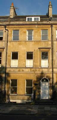 4 Sydney Place, Bath, Somerset, UK was the house that Jane Austen and her parents first moved to when they left the rectory at Steventon to move to Bath in 1801. Recently the first floor of this 18th century Georgian house has been refurbished as a luxury apartment and is available to rent on a self catering basis. Wonderful for all Jane Austen fans, more info here