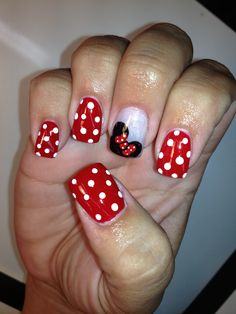 MOM: Big Toe Option 3  Minnie on one toe, Mickey on the other!