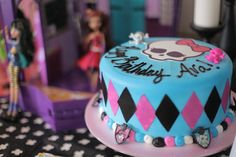 "Photo 1 of 23: Monster High Fearleading Camp / Birthday ""Ava's 7th Monster High Birthday Party"" 