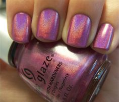 Chloe's Nails: China Glaze OMG Collection...Part 1