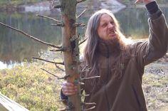 Fenriz aka Gylve Nagell of Darkthrone (Nor) loves to hike...