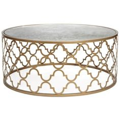 Meridian Coffee Table found on Polyvore