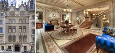 A $90 million French Gothic townhouse for sale in Manhattan