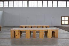 Donald Judd | Marfa, Texas Land Art, Wood Furniture, Furniture Design, Furniture Stores, Jean-paul Sartre, Dinner Places, Miami Houses, Interior And Exterior, Interior Design
