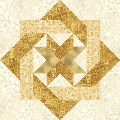 """Caught a Star designed by Pam Bono. 18"""" star block. Pattern no longer available.."""