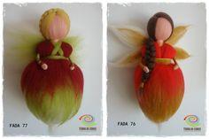 fadas feltradas | needlefelted fairies by TERRA DE CORES