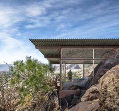 Albert Frey's Palm Springs House Simply Disappears Into The Desert Landscape
