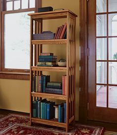 "Mission Bookcase, 60"": Bookcases at L.L.Bean"