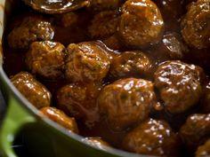 Potluck Meatballs recipe from Ree Drummond via Food Network