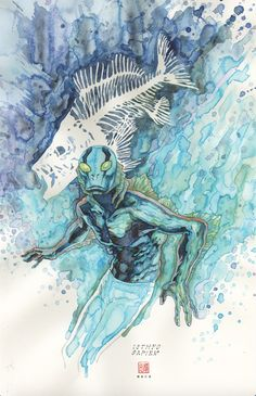 Abe Sapien #31 by David Mack