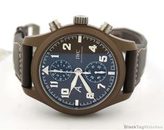 IWC Pilot Chronograph Saint Exupery THE LAST FLIGHT IW388004 Limited Edition  #IWC #LuxuryDressStyles