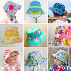Ultimate Bucket Hat Pattern - Newborn to Adult