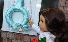 Make an Easy Offray Ribbon Wreath for Dolls