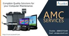 AcuteSoft is one of the leading IT Infrastructure Service, Computer AMC Service Providers in Hyderabad, India. We Provide Laptop, Desktop, Annual Maintenance Contract (AMC) for different services or product Computer Maintenance, Computer Repair Services, Preventive Maintenance, Best Computer, Software Support, Laptop Computers, Digital Marketing, Technology, Operating System