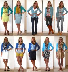 how to wear a cardi.! fantastic!!! love them all!